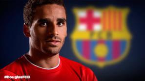 Douglas, nuevo jugador del Barça.