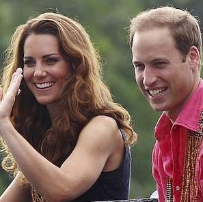 Los duques de Cambridge, el príncipe Guillermo y Kate Middleton