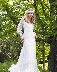 20 vestidos de novia de manga larga