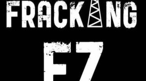 Cartel de la plataforma Fracking Ez, que pide la prohibición.