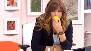 """Mariló Montero afirmó que """"oler un limón puede prevenir el cáncer""""."""