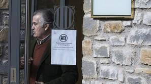 El extesorero del PP Luis Bárcenas a la salida del juzgado de Vielha (Lleida).