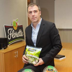 Fermín Aldaz Áriz, en las oficinas de Florette en Pamplona.