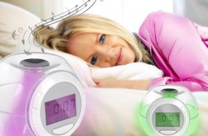 Reloj despertador con sonidos naturales