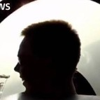 Lubitz, a los mandos del aparato en el vídeo que se ha publicado.