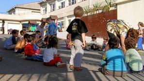 Los niños de 4 a 12 años son los receptores de la iniciativa comarcal.Foto: I. Alberdi