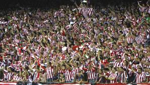 Más de 40.000 aficionados teñirán de rojiblanco la mitad del Camp Nou para empujar al Athletic a una gesta como la de 1958 ante al Madrid de Di Stéfano.