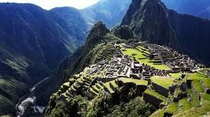 La ciudadela inca de Machu Picchu