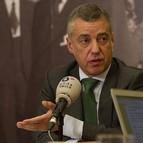 El lehendakari Iñigo Urkullu en una entrevista para Onda Vasca