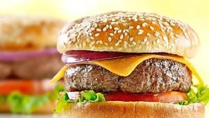 Una hamburguesa convencional.