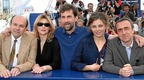 Nanni Moretti, en el Festival de Cannes celebrado en 2006.Foto: Afp