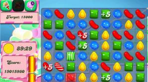 Imagen del videojuego 'Candy Crush'.
