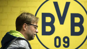 Fotografía de archivo del entrenador del Borussia Dortmund, Juergen Klopp.