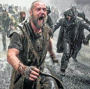 Russell Crowe, en un fotograma de 'Noé'.