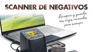 Scanner de negativos.