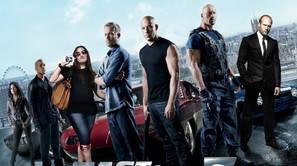 "Cartel de la película ""Fast and Furious"" (""A todo gas"")."