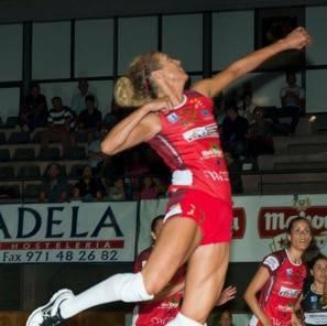 Imagen de la jugadora estadounidense Therese McNatt.