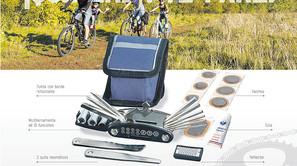 Kit reparación de bicicletas.