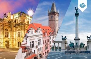 Circuito 8 días Budapest - Viena - Praga