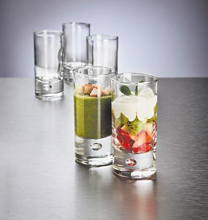6 vasos para aperitivos