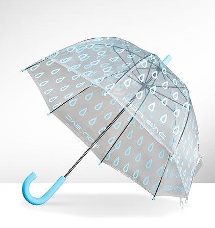Paraguas burbuja infantil