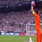 Iker Casillas durante el partido ante la Juventus