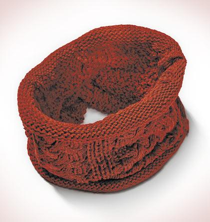 Cuello bufanda teja