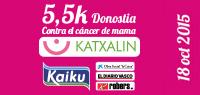 5,5km Katxalin, por el cancer de mama