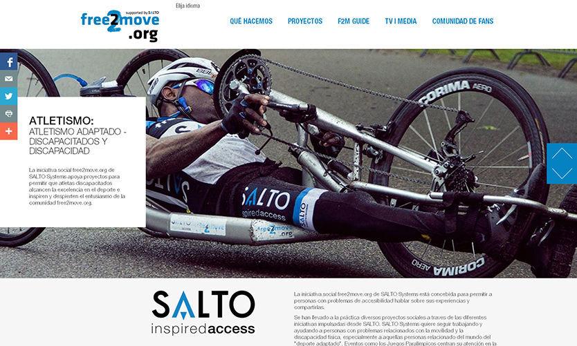 Free2move.org: accesibilidad y proyectos paralímpicos
