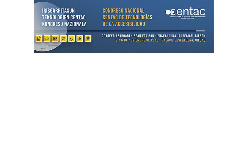 Lotura seleccionada como ponente en el 6ª Congreso Nacional CENTAC de Tecnologías de la Accesibilidad