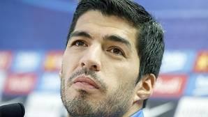 Luis Suárez, a una pregunta en catalán: «Me mataste»