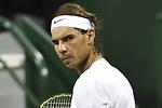 Nadal sufre pero llega a semifinales de Doha