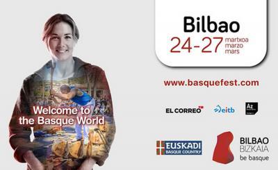 Cartel anunciador del Basque Fest 2016