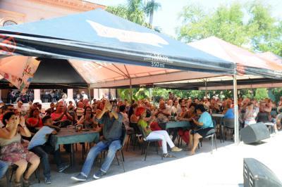 Celebración de Aberri Eguna 2015 en La Habana, también entonces precedida de la Euskal Astea-Semana Vasca