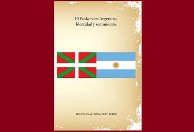 "Cover of the book ""Euskera in Argentina. Identity and Feeling"""