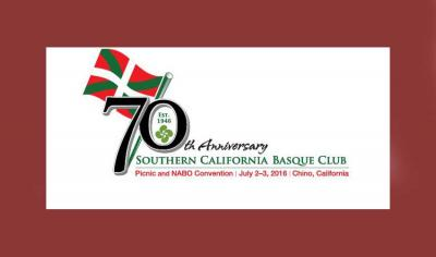 AEBetako NABOren 2016ko elkarretaratze nagusia Kaliforniako Chinon izango da, SCBC euskal etxea antolatzaile