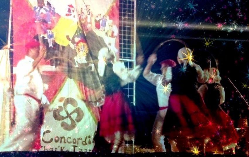 Concordian, dantza emanaldia
