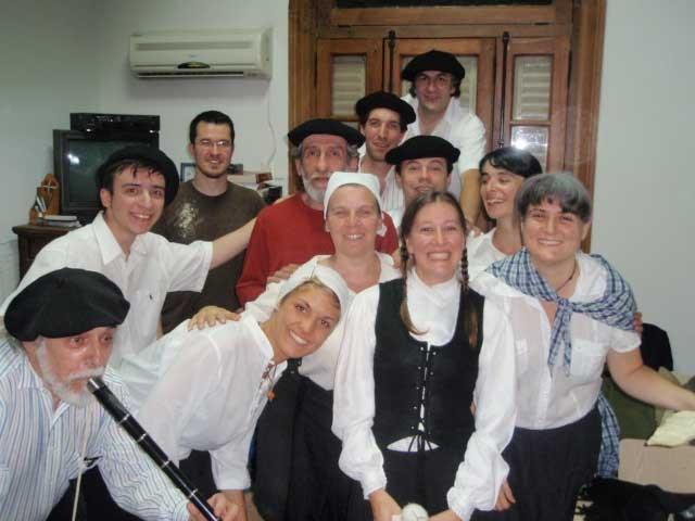 Day of Euskara 2008 in Euskaltzaleak - Basque language students