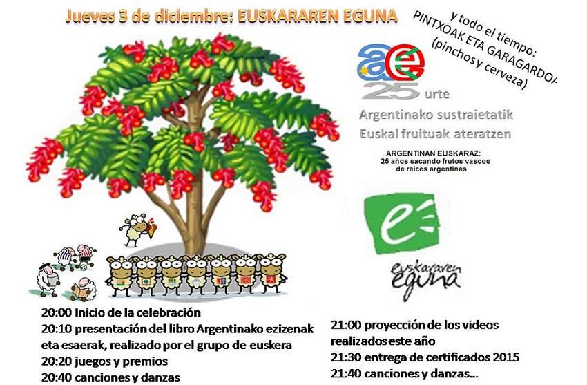 2015eko Euskara Nazioarteko Eguna Bahia Blancan