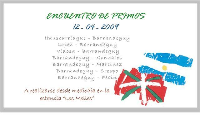 Barrandeguy 2009 - Afitxa