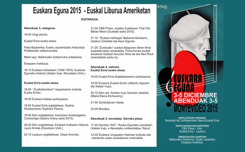 Day of the Basque Language 2015