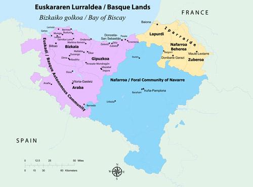 Basque Map