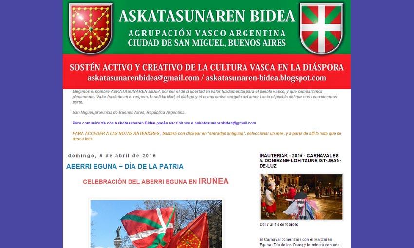 San Miguel-go Askatasunaren Bidea euskal elkartea
