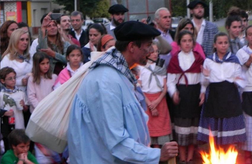Olentzero Necocheako Santo Tomas festan