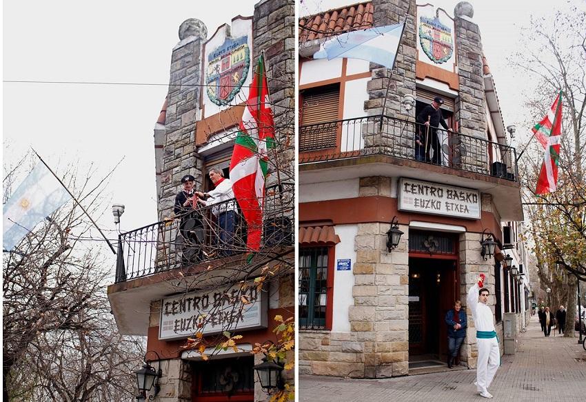 Meza, txupinazo eta Aurresku La Platan