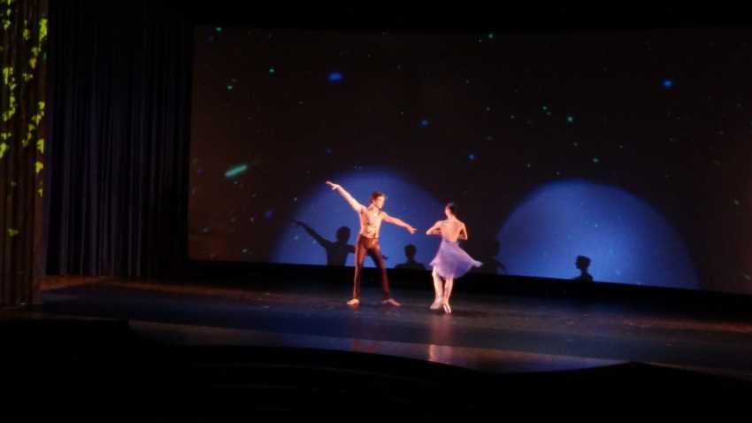 Lucia Lacarra dantzaria