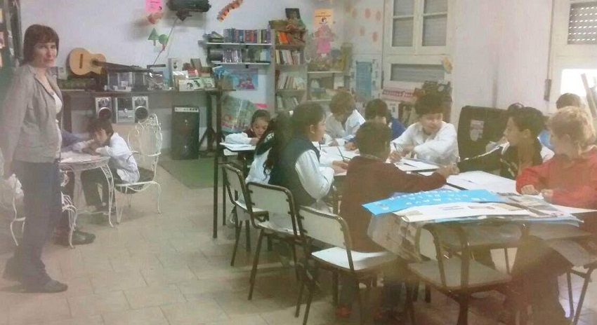 Euskal kultura klaseak Elordiko landa eskolan