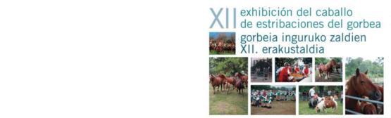 Feria del Caballo de Estribaciones del Gorbea