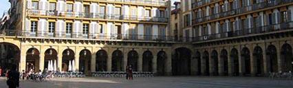 La ciudad vieja de San Sebastián