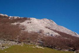 La mítica cumbre del Anboto (1.330 m)